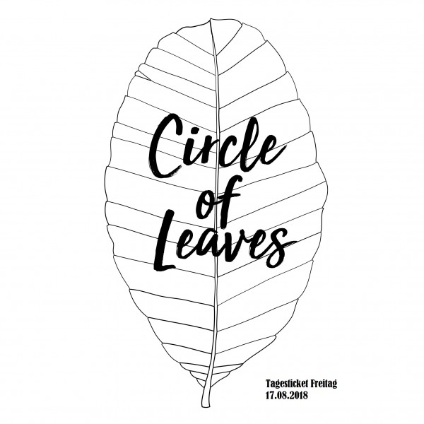 Print@Home Tagesticket Freitag - Circle of Leaves