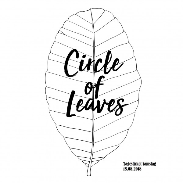 Print@Home Tagesticket Samstag - Circle of Leaves