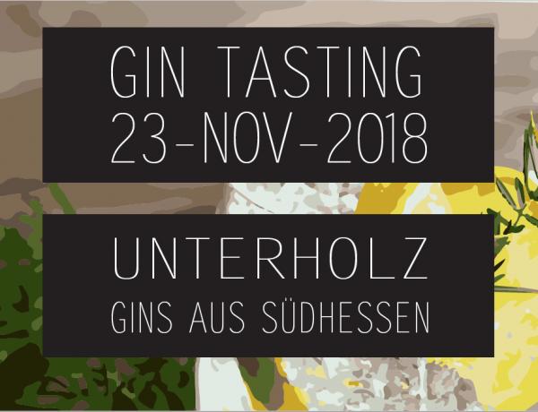 Early Hirsch Ticket Gin Tasting am 23.11.2018