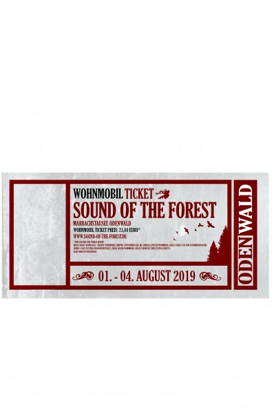 Wohnmobil Ticket Sound of the Forest 2019
