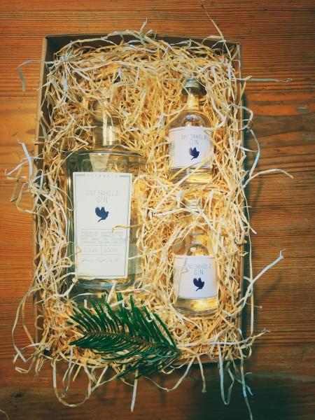 Unterholz Gin Geschenk-Box mit Unterhölzchen