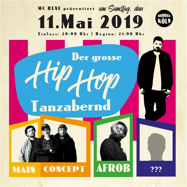 Print@Home Tanzabend mit MC Rene am 11.05.19
