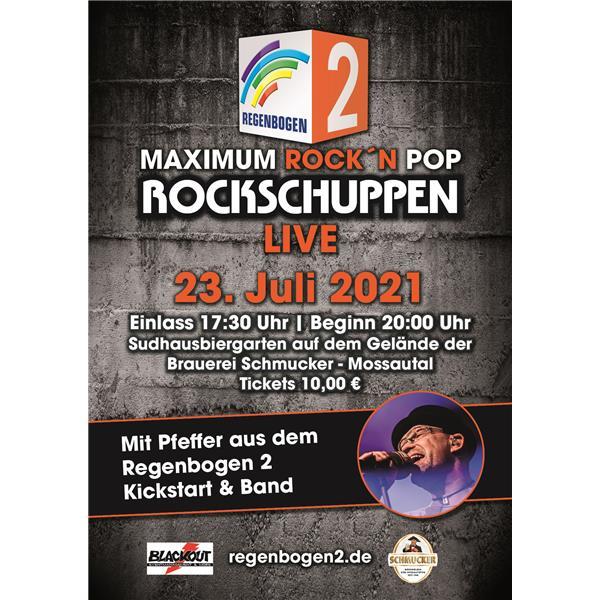 Regenbogen 2 - Rockschuppen