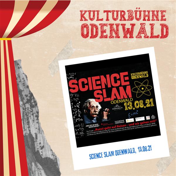 Science Slam Odenwald - Kulturbühne Odenwald