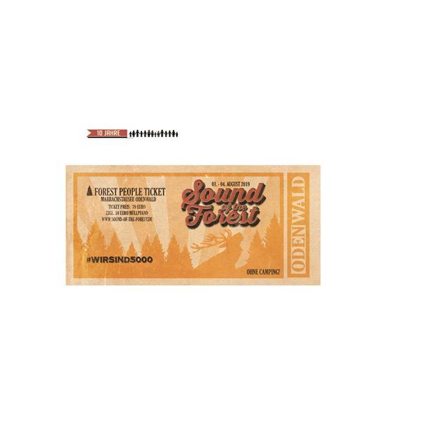 Sound of the Forest 2019 - Festival Ticket - Sparkasse