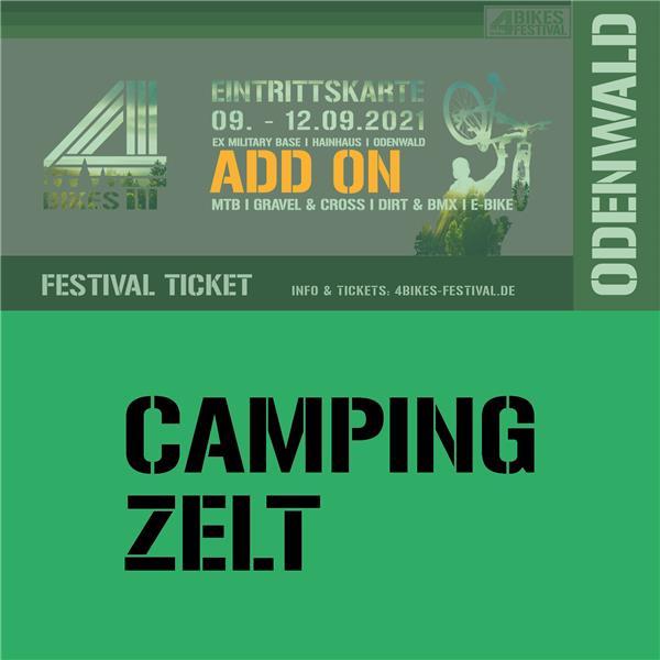 4 BIKES CAMPING ZELT (ADD ON)