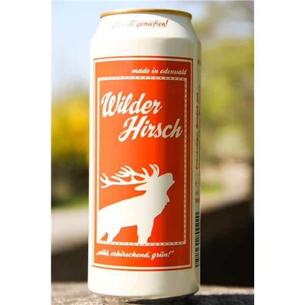Wilder Hirsch 12-ender Dose