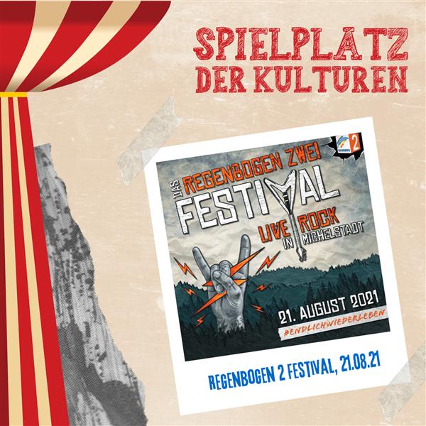 Regenbogen 2 Festival - Spielplatz der Kulturen