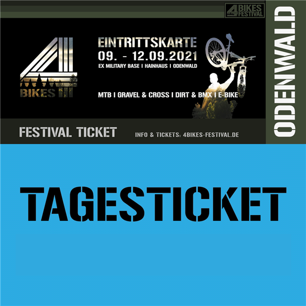 4 BIKES TAGESTICKET Sonntag - Festival