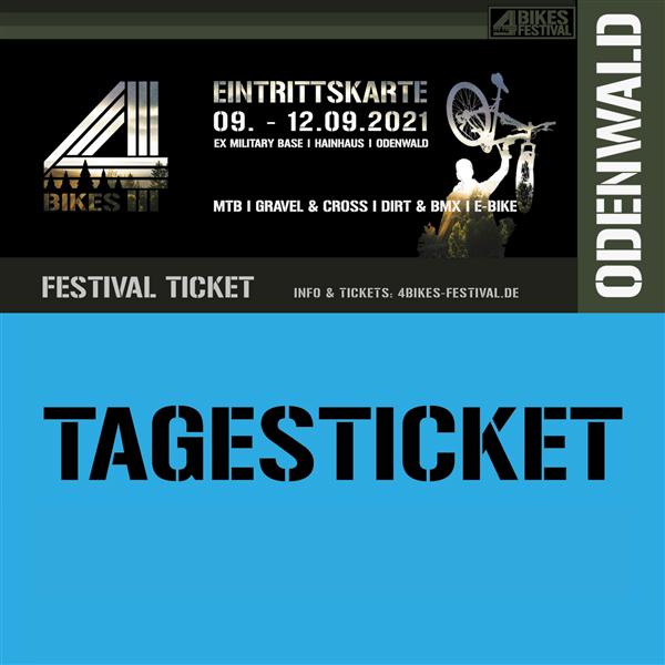 4 BIKES TAGESTICKET Samstag - Music/ Festival