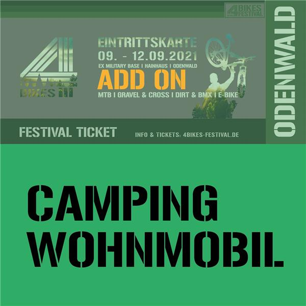 4 BIKES CAMPING WOHNMOBIL (ADD ON)