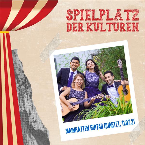 Matinee im Stadgarten - Mainhatten Guitar Quartet Spielplatz der Kulturen
