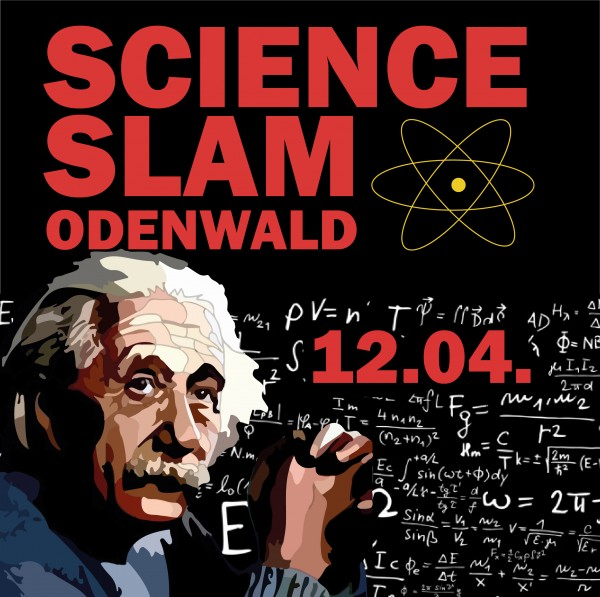 Science Slam Odenwald am 12.04.19