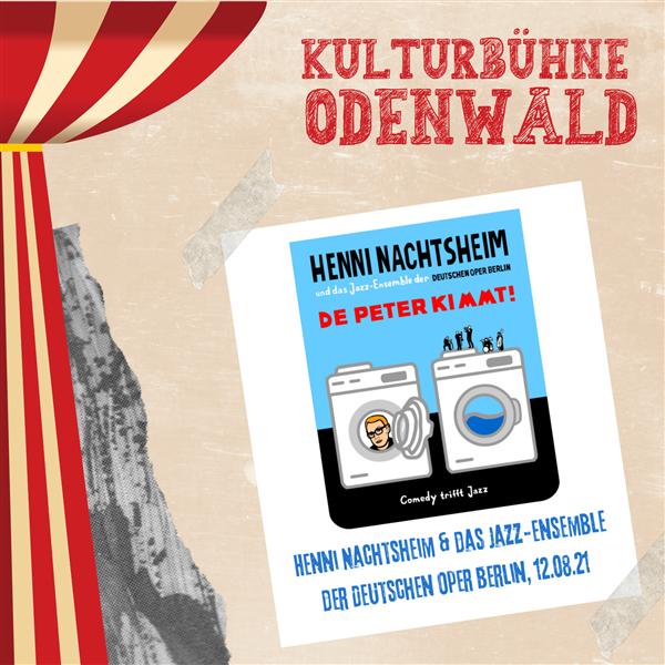 Henni Nachtsheim & das Jazz-Ensemble der Deutschen Oper Berlin - Kulturbühne Odenwald