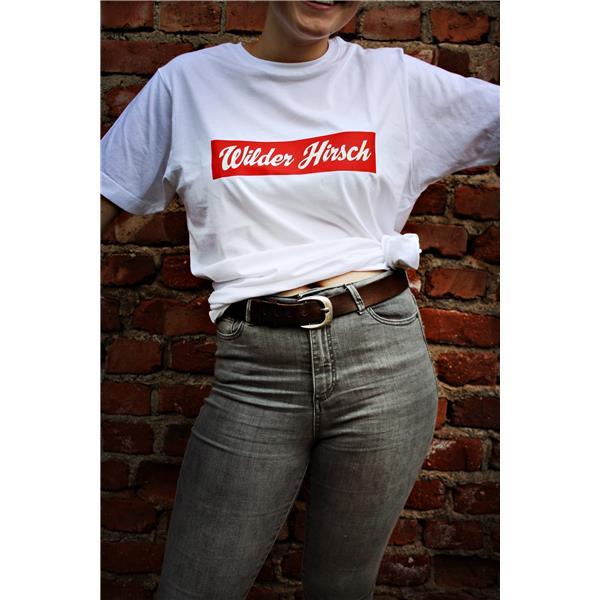 Wilder Hirsch T-shirt ''''Rotwild''''