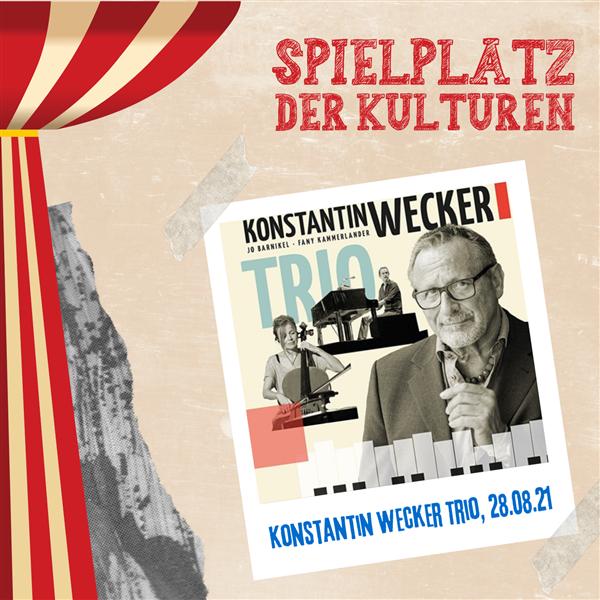 Konstantin Wecker Trio – Spielplatz der Kulturen