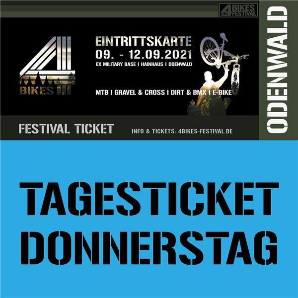 4 BIKES TAGESTICKET DONNERSTAG